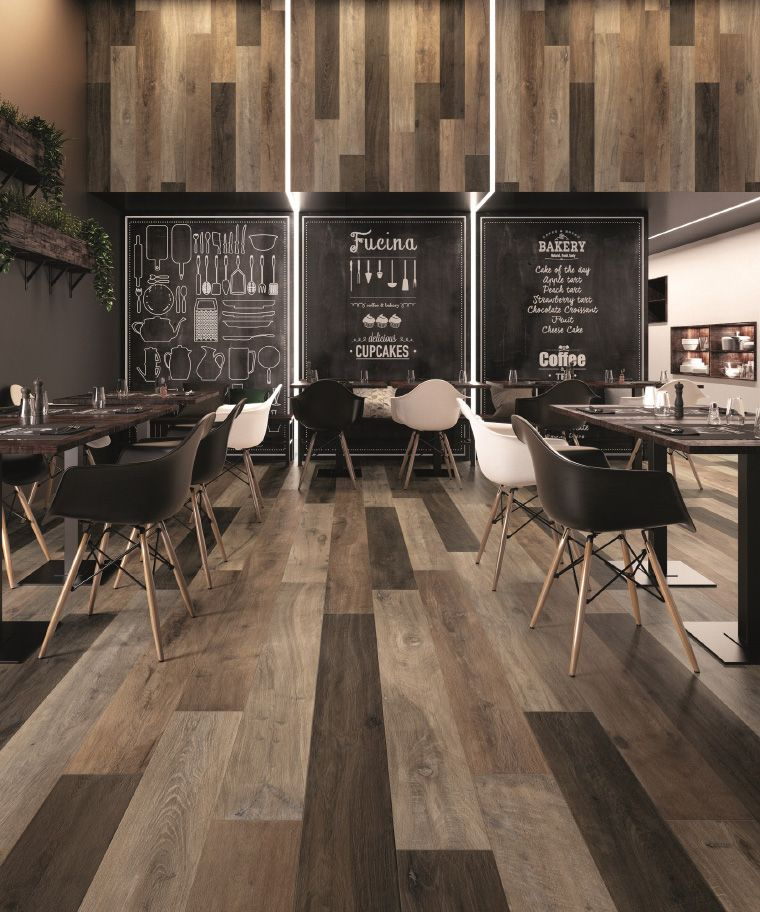 Legend by ariana ceramica old wood inspired interiors for Mattonelle per salone