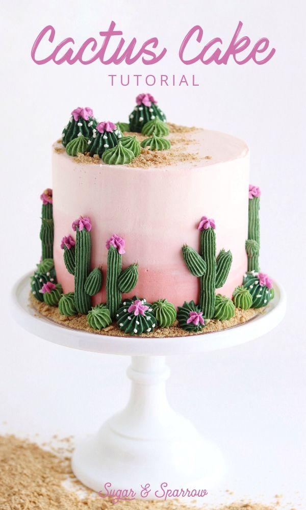 Cactus Cake Tutorial
