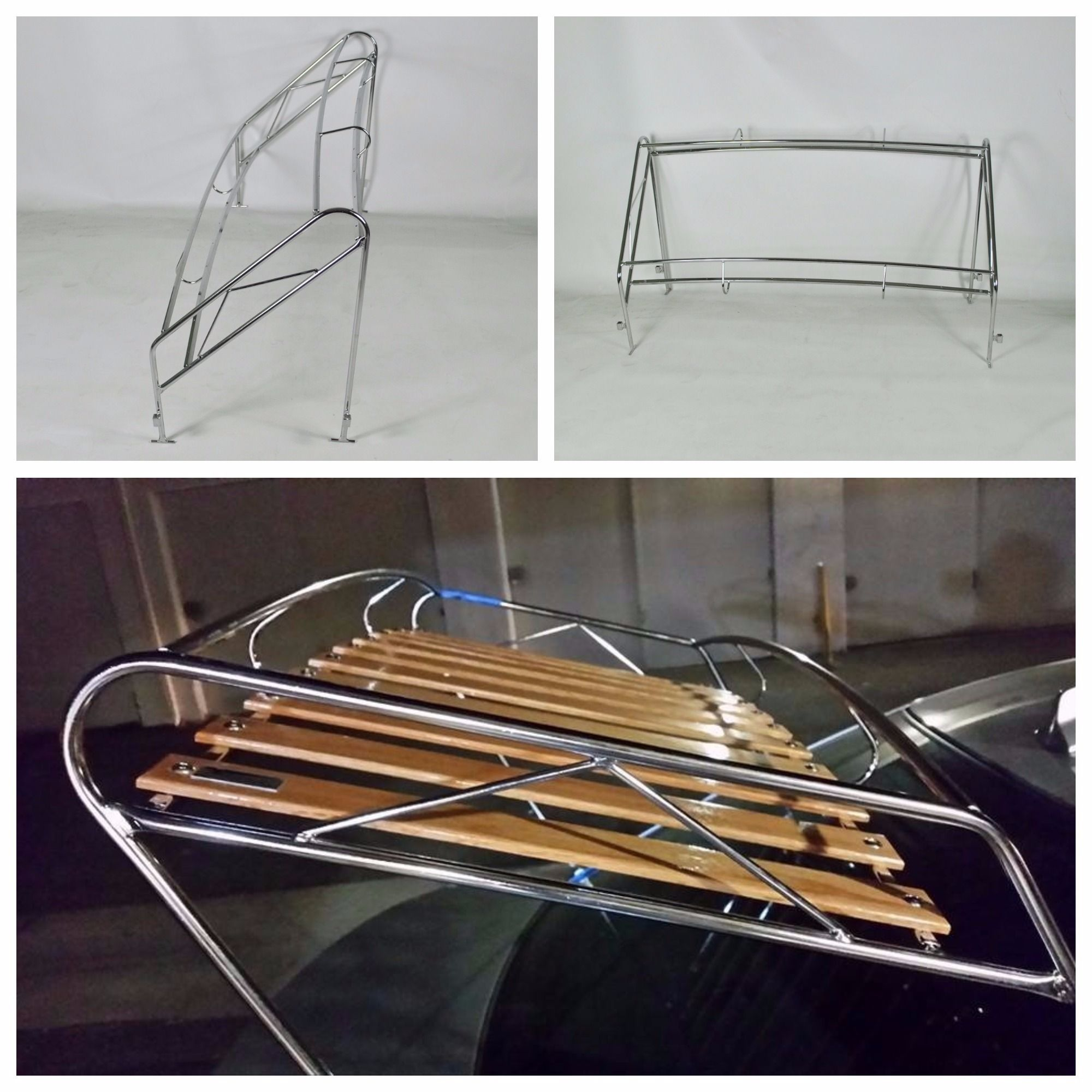 Triple Chrome Plated Rare Jim Dandy Rack Rolled Into Our For Production Foreign Concepts Vw And Here Is The Finished Product