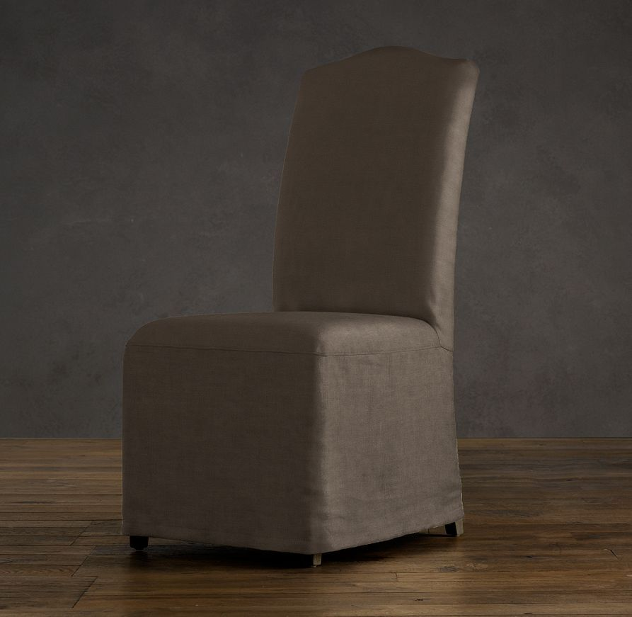 Hudson Camelback Slipcovered Side Chair With Slipcover | Fabric Arm U0026 Side  Chairs | Restoration Hardware