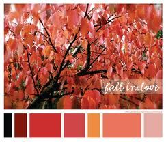 Great wedding or baby shower color palette