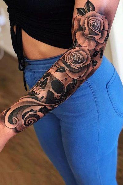 35 Beautiful Rose Tattoo Ideas for Women