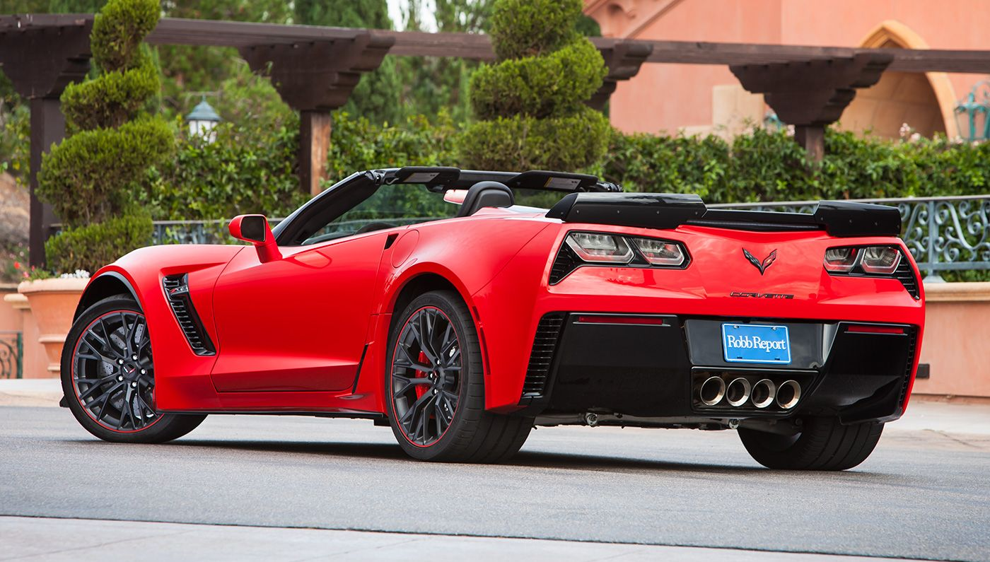 The Chevrolet Corvette Z06 Convertible Featured In Robb Report S Car Of Year