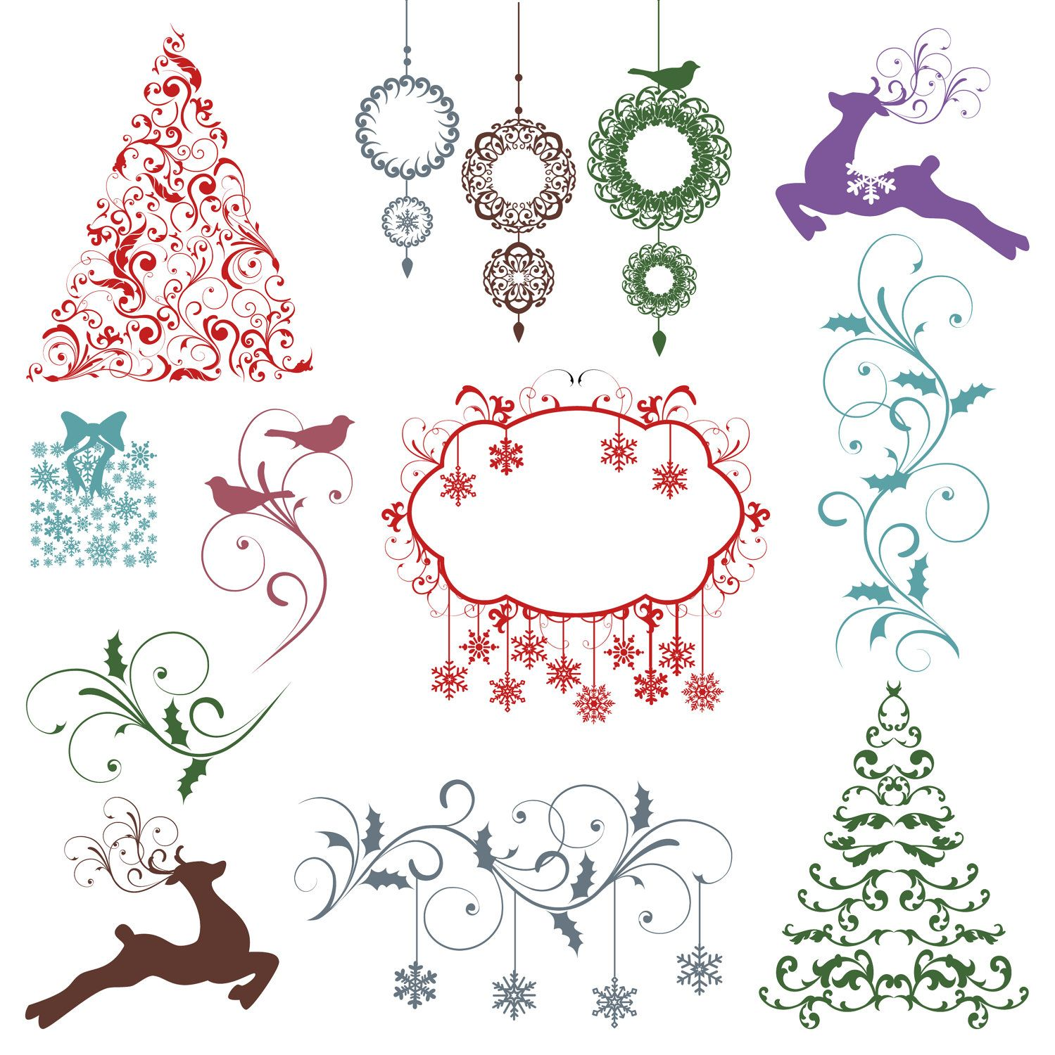 christmas photoshop brushes  Christmas Photoshop Brushes Christmas Silhouettes Photoshop Brushes ...