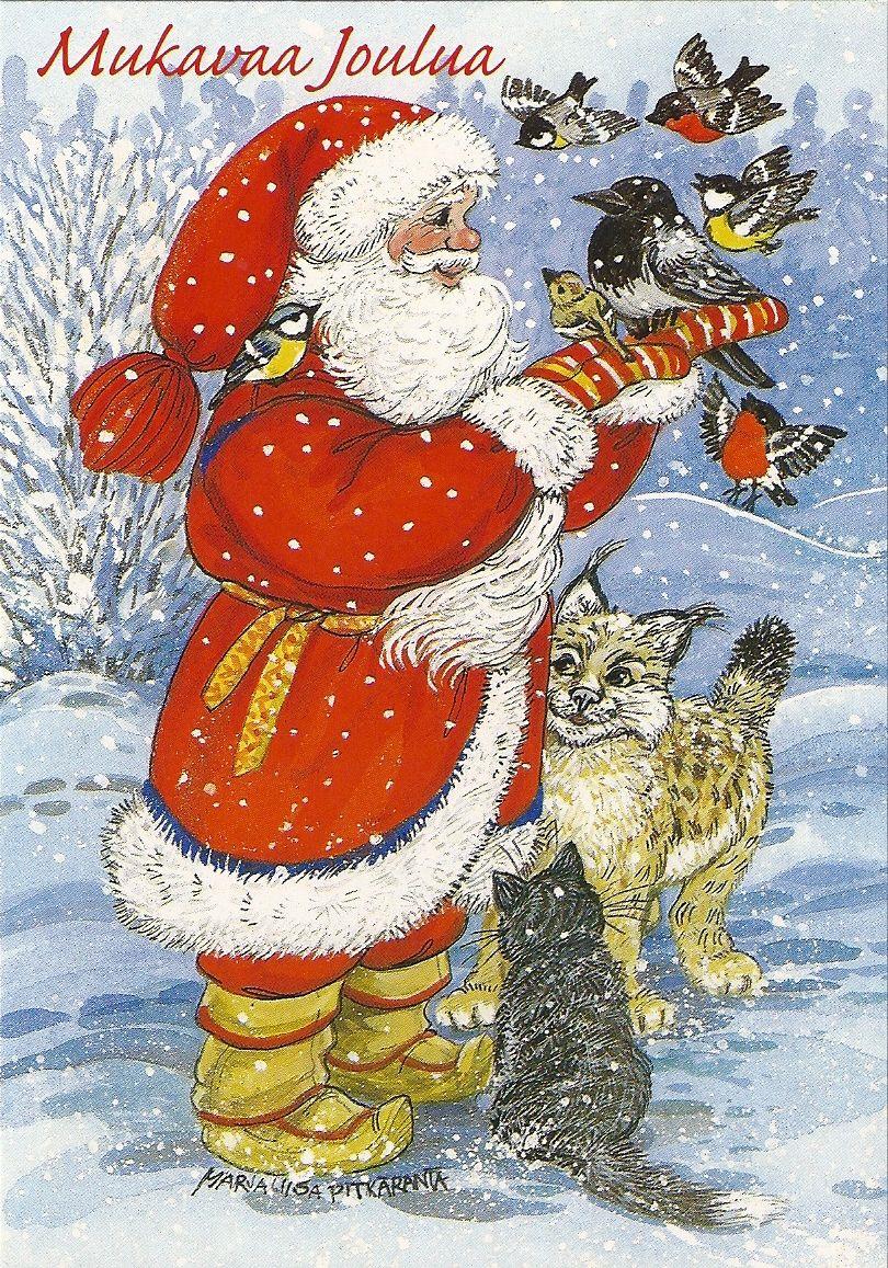 Mukavaa Joulua myös eläimille