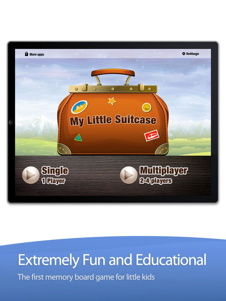 ‎My Little Suitcase The Memory Board Game on the App