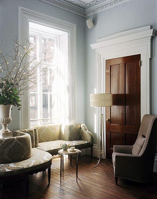 Molduras de techo y enmarcando puertas y ventanas   Puertas y ...