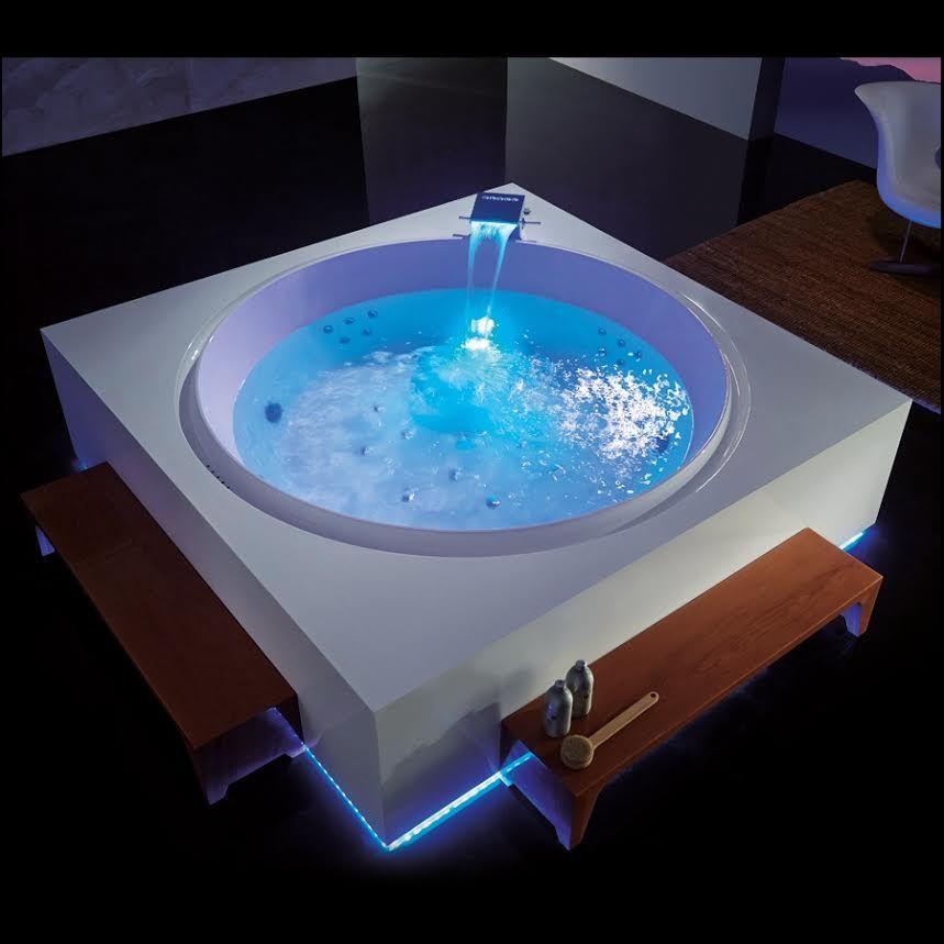 Baignoire 2 Personnes Baignoire Balneo 2 Places Aquabains Ma Baignoire Balno Bathroom Spa Bathroom Decor Bathtub