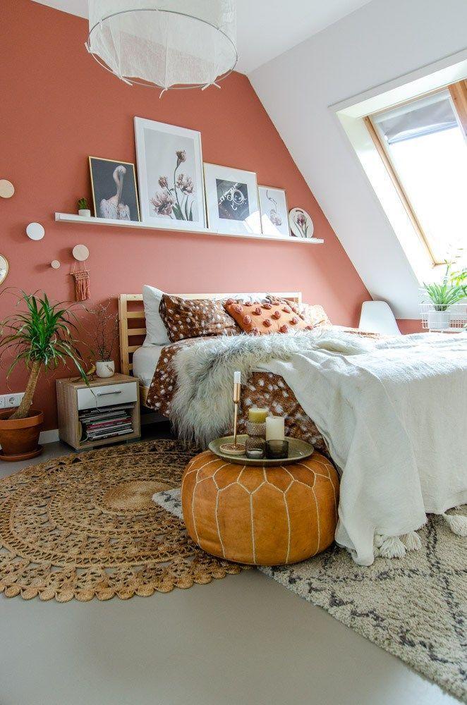 Das Schlafzimmer erhielt ein Metamorphose-Schlafzimmer - Das Schlafzimmer stieg ...