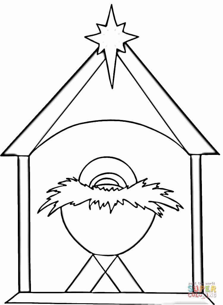 Christian Christmas coloring page from Religious Christmas category ...