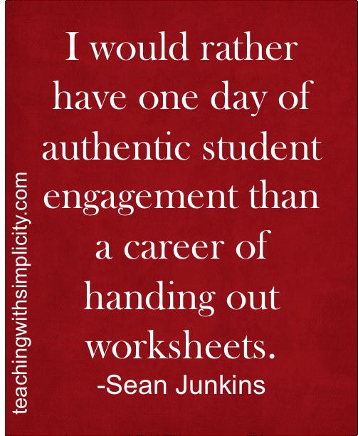 motivation student engagement student centered classroom