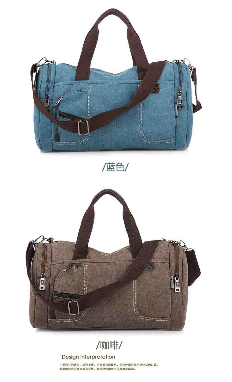 18cfdb73e8b5 Спортивные холстяные сумки для спортзала, путешествий от русского  дизайнера, новая женская мужская повседневная ручная