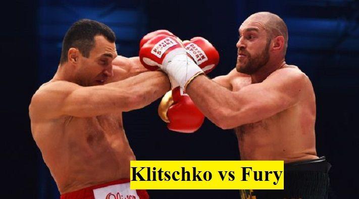 Klitschko Fury Stream