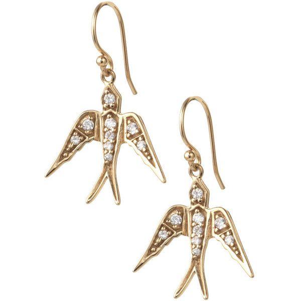 Stella & Dot Soar Earrings ($39) ❤ liked on Polyvore