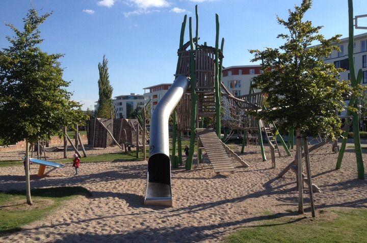 Epic Spielplatz im City Park wird als Ausflugsziel mit Kindern in Karlsruhe auf mitkids in empfohlen Finde weitere Tipps in deiner N he auf mitkids in