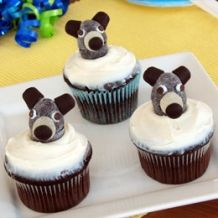 Baloo Birthday Cupcakes