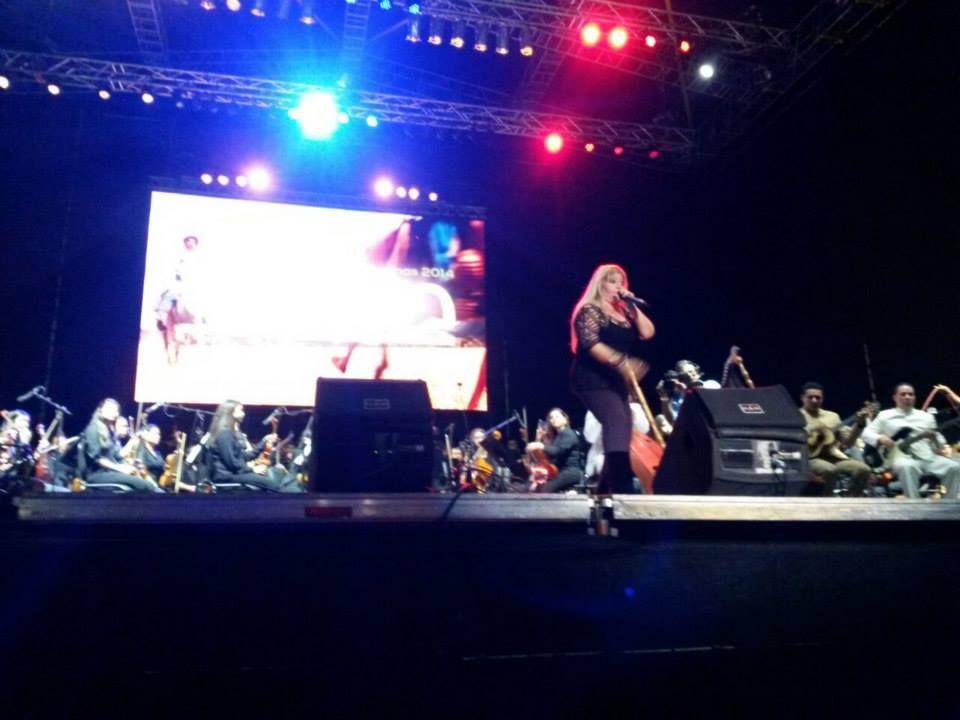 Cristina Maica hizo zapatear al público de Barinas.