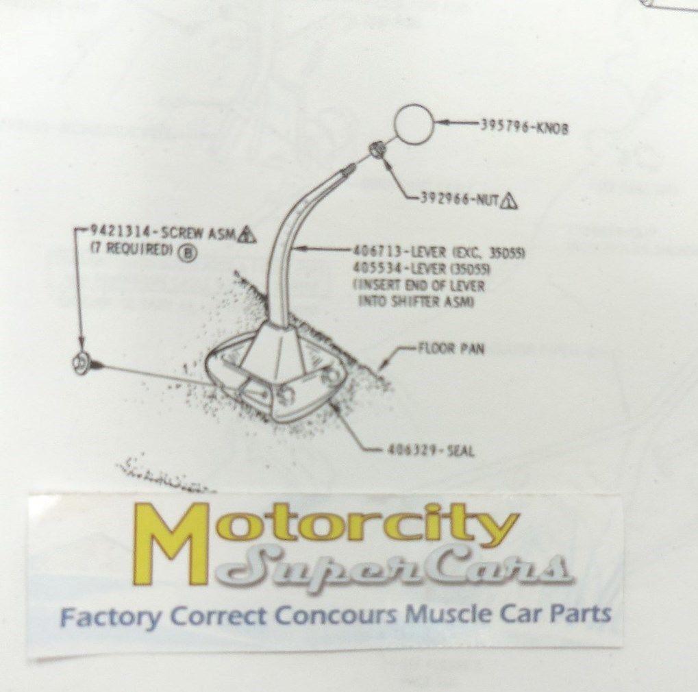 70 71 72 Cutlass 442 W 30 Manual 4 Speed Floor Shift Rubber Boot Hurst Shifter Hurst Shifter Shifter Rubber Boot