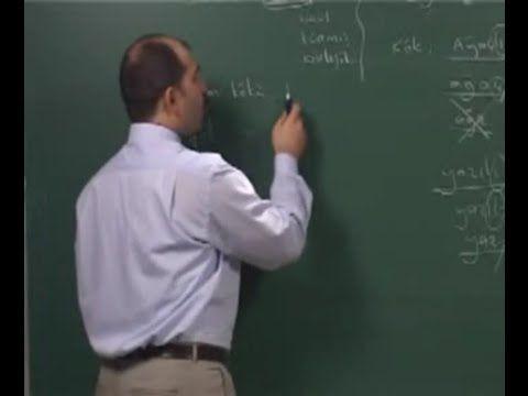 Türkçe - 12. Sözcükte Yapı - 1