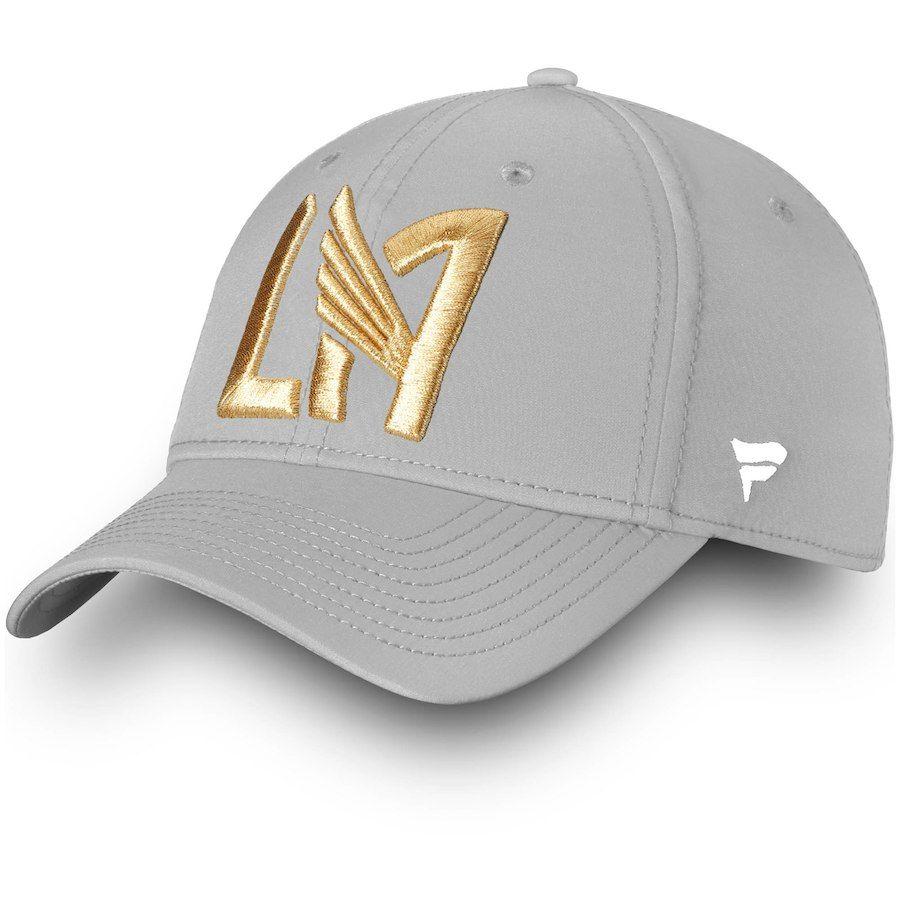 b83aa3fb198 Men s LAFC Fanatics Branded Gray Elevated Speed Flex Hat