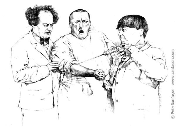 The Three Stooges Coloring Pages By Carl Coloring Pages Illustration Artwork The Three Stooges