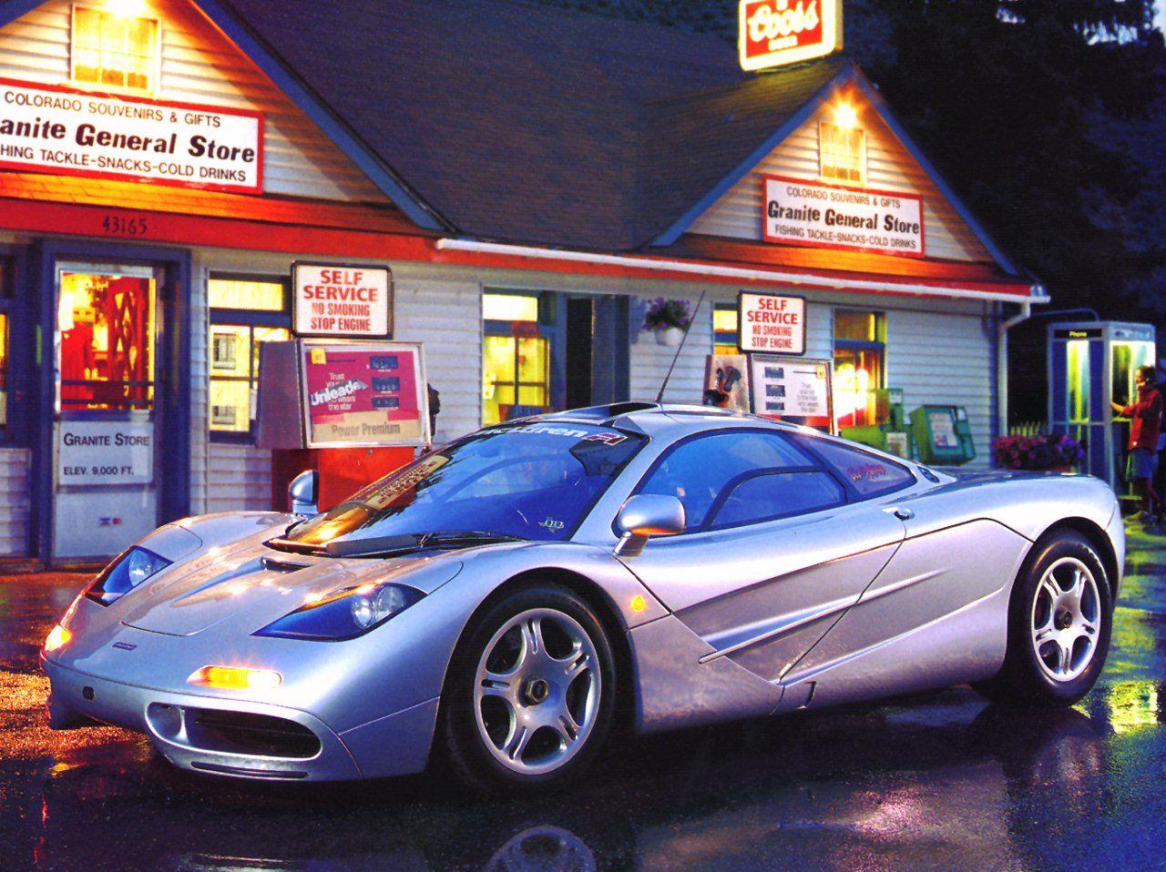 McLaren F1, 199298 Автомобиль