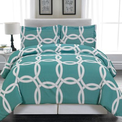You'll love the Redington 3 Piece Full/Queen Duvet Cover Set at Wayfair.ca - Great Deals on all Bed & Bath  products with Free Shipping on most stuff, even the big stuff.