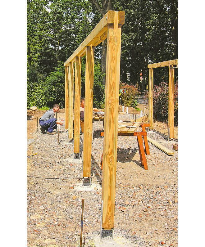 Carport Selber Bauen Selbst De In 2020 Carport Selber Bauen Carport Bauen Gartenhaus Bauen