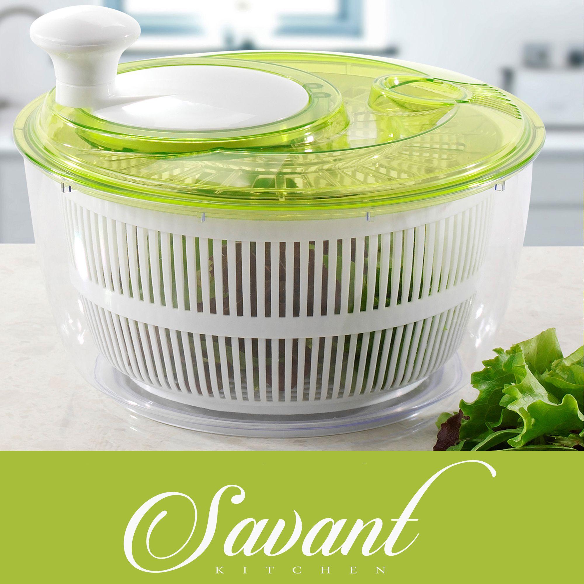 10 Alternative Uses For Your Salad Spinner Salad Spinner Vegetable Salad Kitchen Must Haves