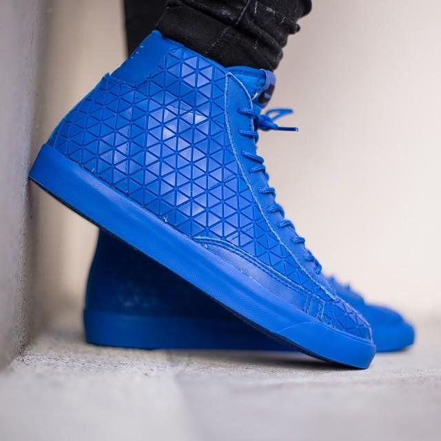 Nike Blazer Mid Metric Qs Royal Blue 744419 400 Ayakkabilar Aksesuarlar Giyim