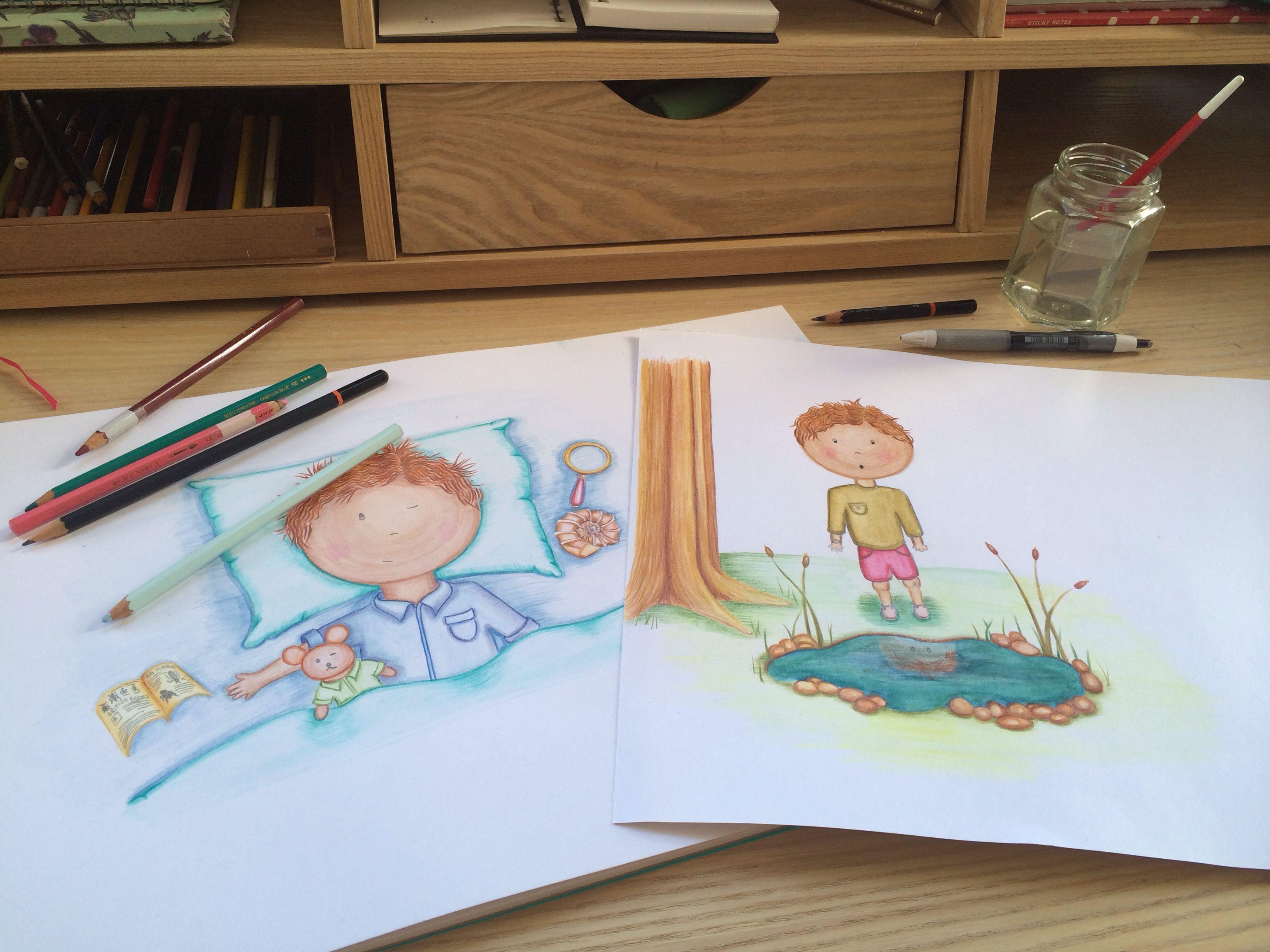 Watercolour Children S Book Illustration Google Search