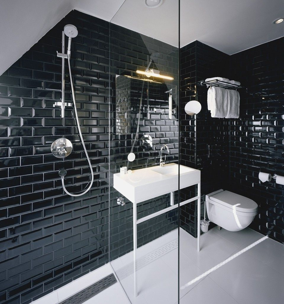This Is A Great Modern Spin On Classic Achromatic Black White Color Scheme
