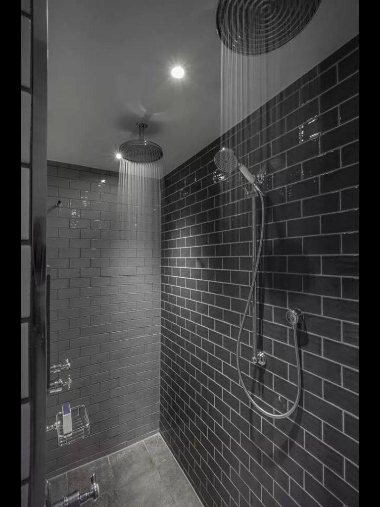 Dual Shower Double Shower Bathroom Shower Design Shower Design