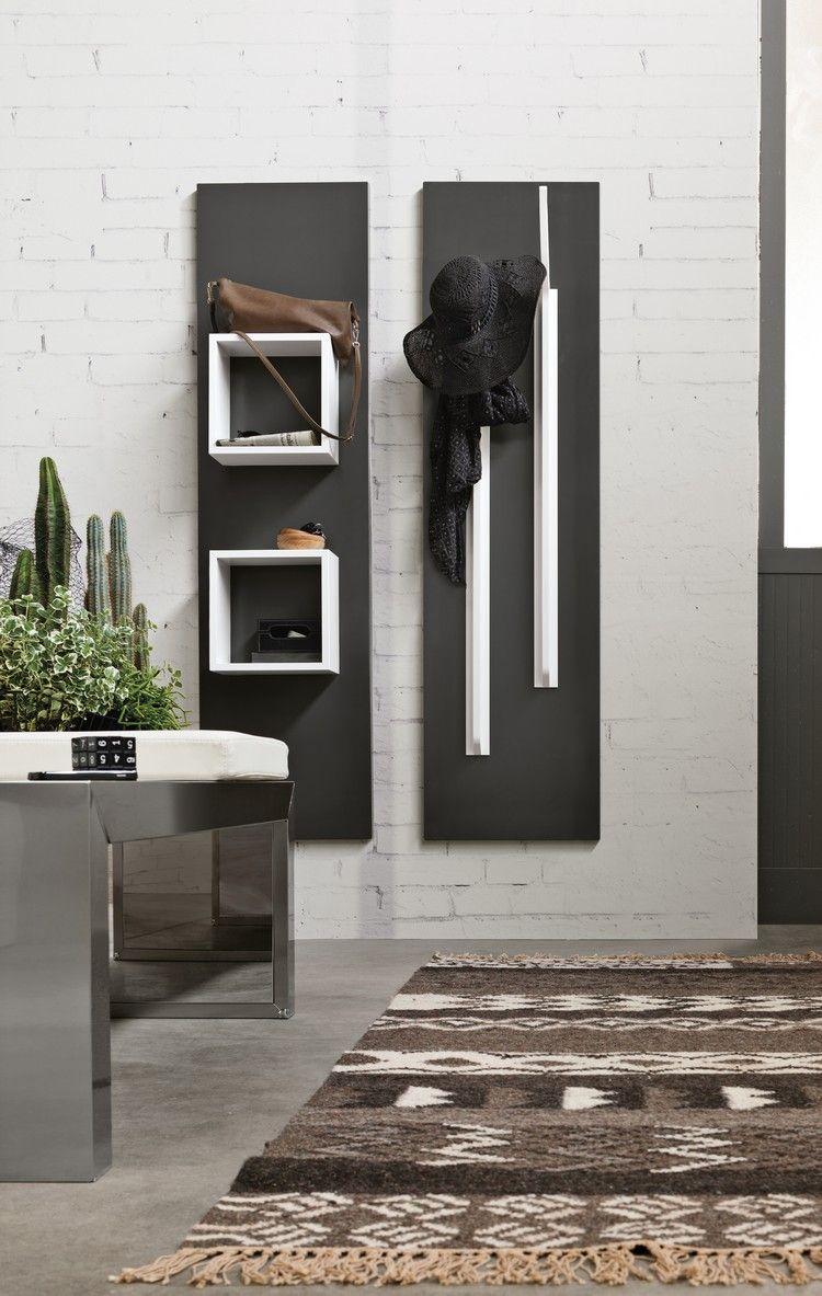Hallway wall storage  Magnetika Thinking  Living environment Interiors and Decoration