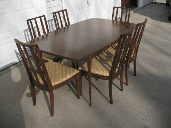 Vintage Broyhill Brasilia Dining Table and Chairs   Dining ...