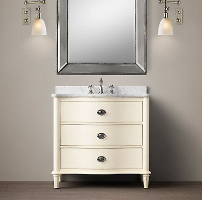 Vanities U0026 Sinks | Restoration Hardware Empire Rosette Single Vanity