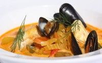 Sagene Lunsjbar. Amazing Fisksouppa, all fish is local!