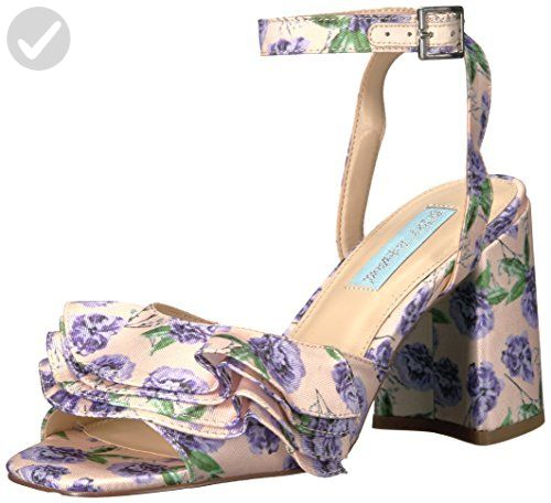 Blue by Betsey Johnson Women's Sb-Flirt Dress Sandal, Lilac, 9.5 M US - All about women (*Amazon Partner-Link)