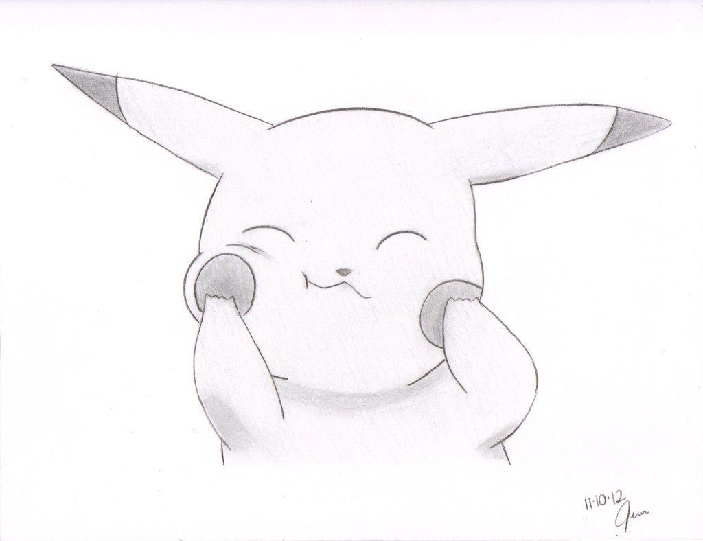 Baby Pikachu Drawing Cool Pikachu Drawings Drawing And