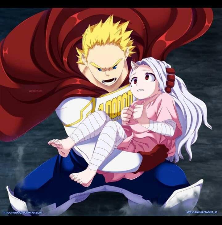 Mirio and emi My hero academia manga, Hero, My hero