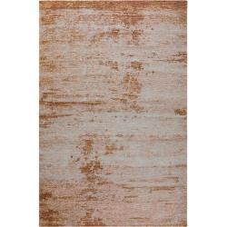 Photo of benuta flat woven carpet Frencie brown 300×400 cm – Modern carpet for living room benuta