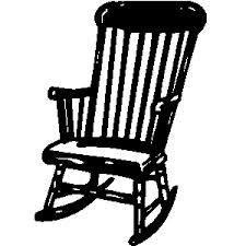 Black And White Print Rocking Chair Google Search Rocking Chair Free Clip Art Black And White