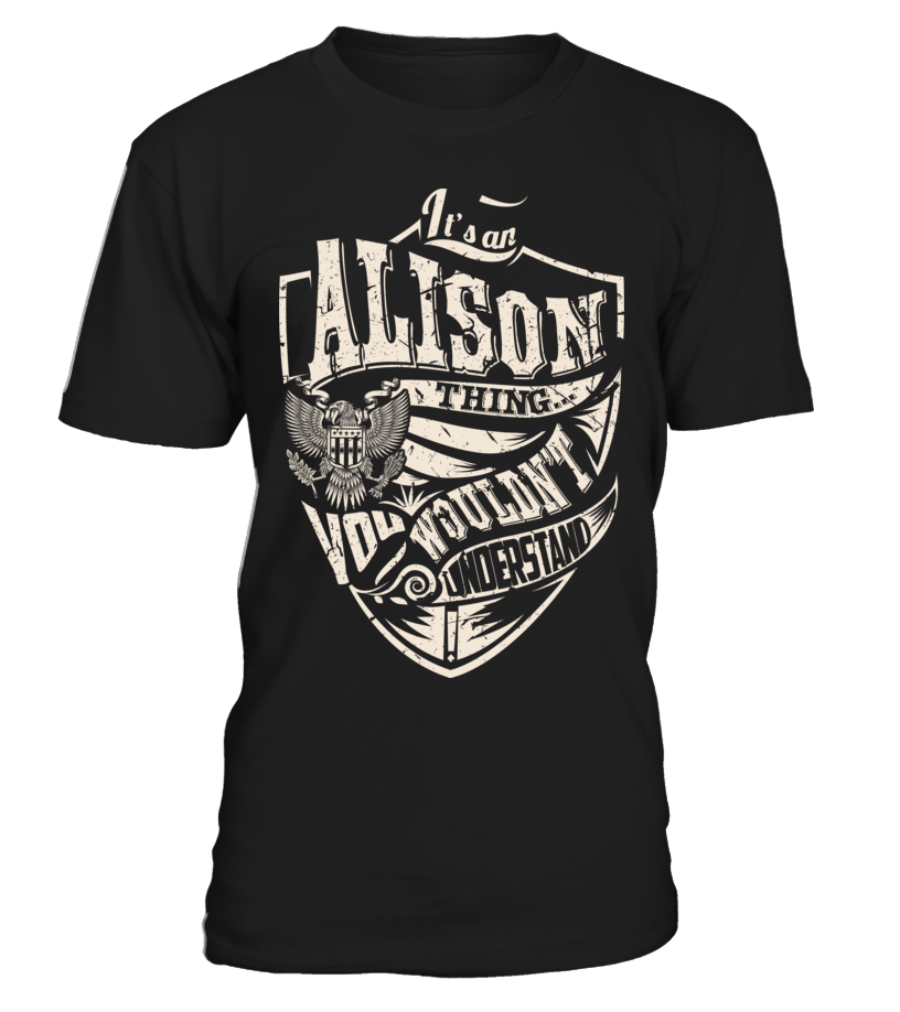 It's an ALISON Thing