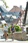 Der Lahntalradweg ist einer von drei Radwegen durch die Region Siegen-Wittgenstein der dem Fahrradfahrer entlang der Flussauen von deren Quelle bis zur Mündung führt