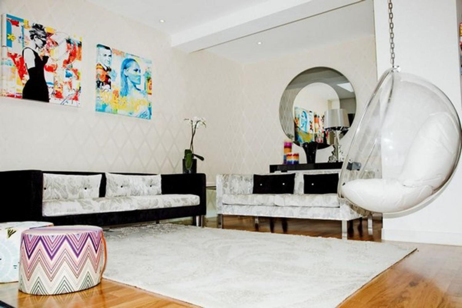 Unique Home Swings on Living room make Gorgeous Interior | ALL DECOR ...