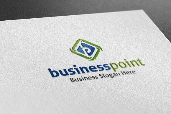 Business Point logo by BdThemes on @creativemarket
