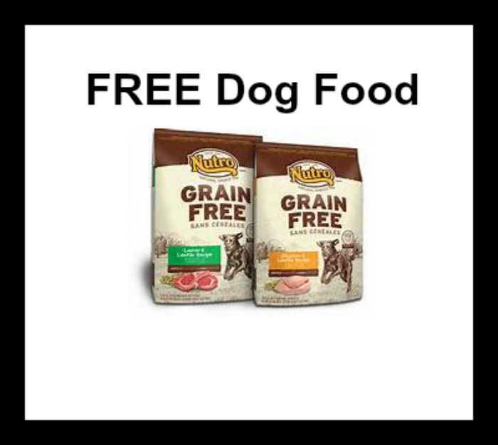 Petsmart Free Bag Of Wellness Nutro Cat Or Dog Food With Images Dog Food Recipes Food Free Dog Food