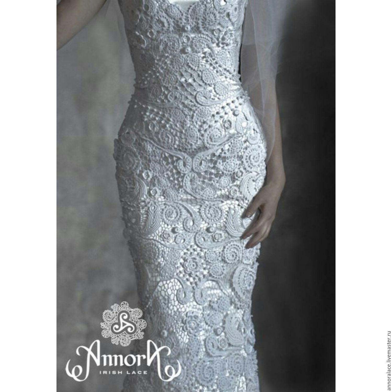 0b689d94d80 Свадебное платье из Ирландского Кружева Annoralace - ирландское кружево