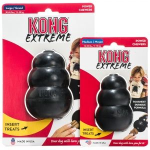 Kong Extreme Dog Toy Ideal For Power Chewers Kong Dog Toys