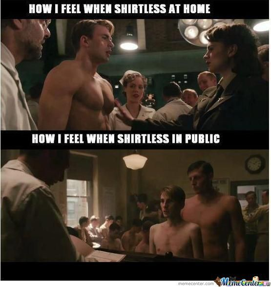 Captain America Body Image Meme With Images Chris Evans